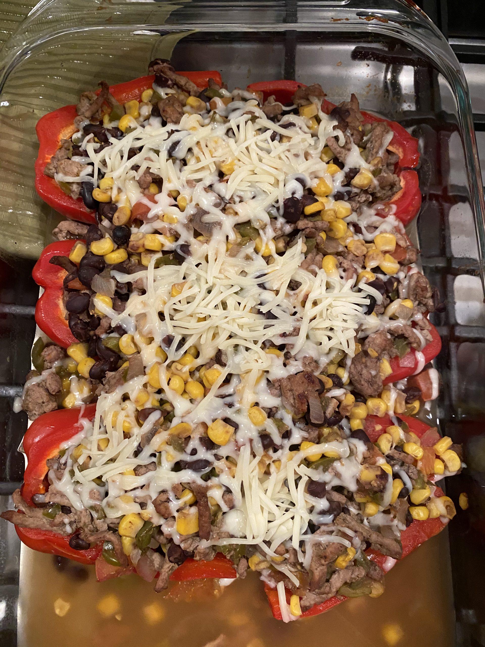 southwest stuffed bell peppers