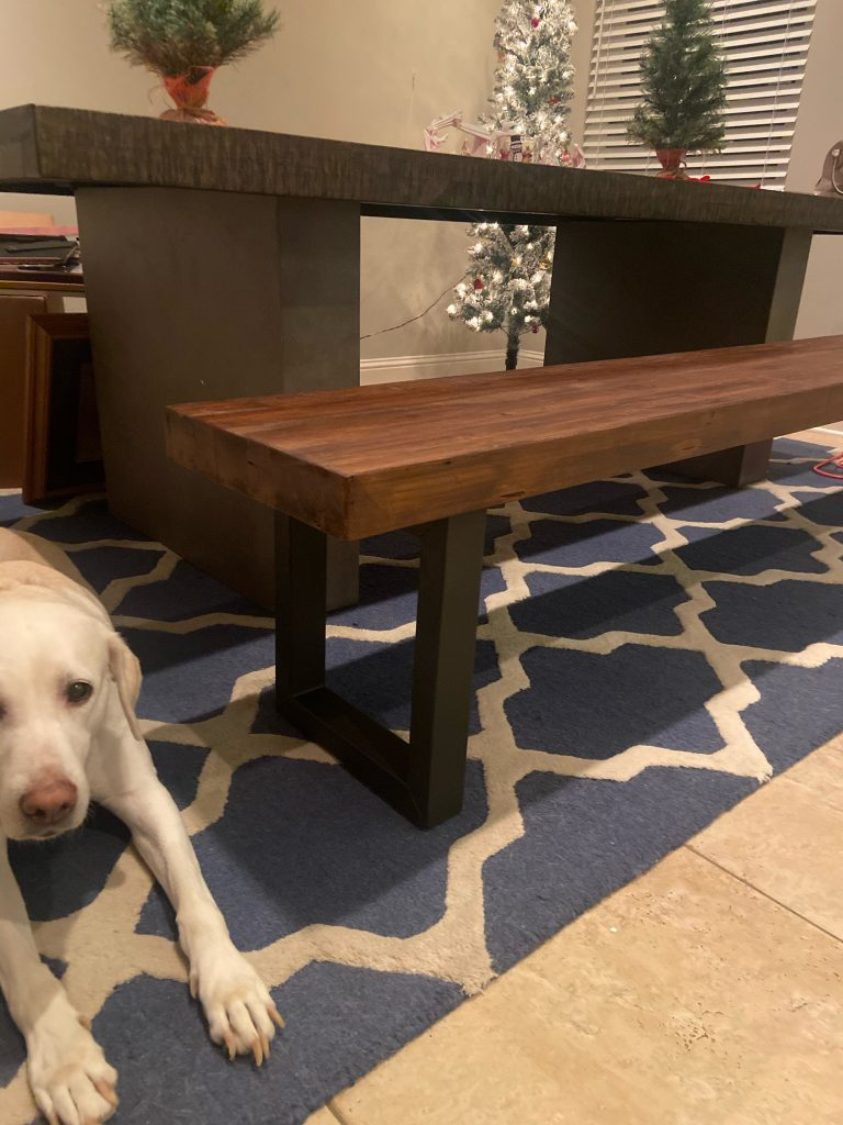 Griffin bench   pottery barn
