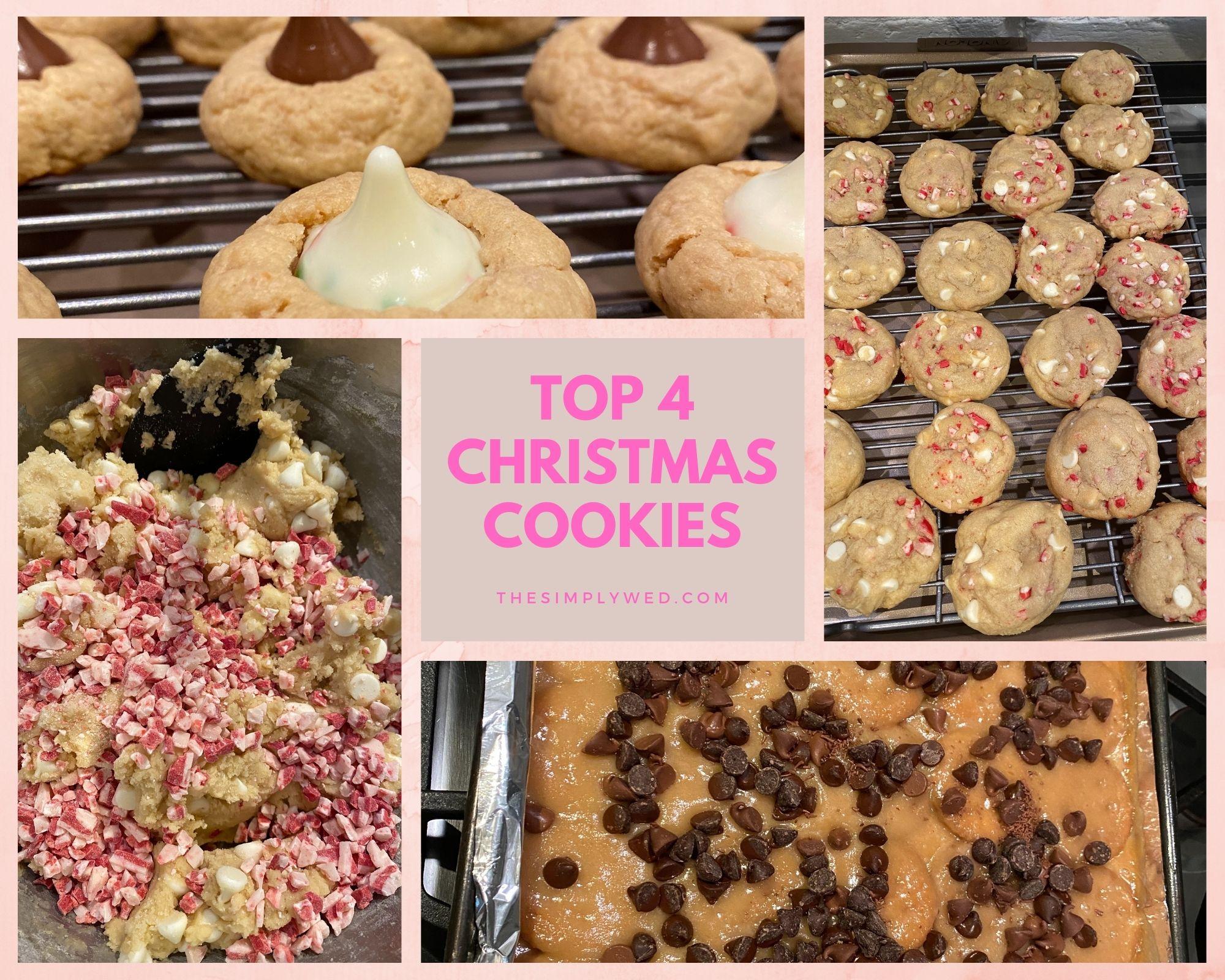 Top 4 Christmas Cookies