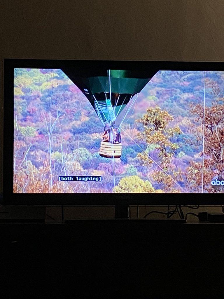 the bachelor | hot air balloon