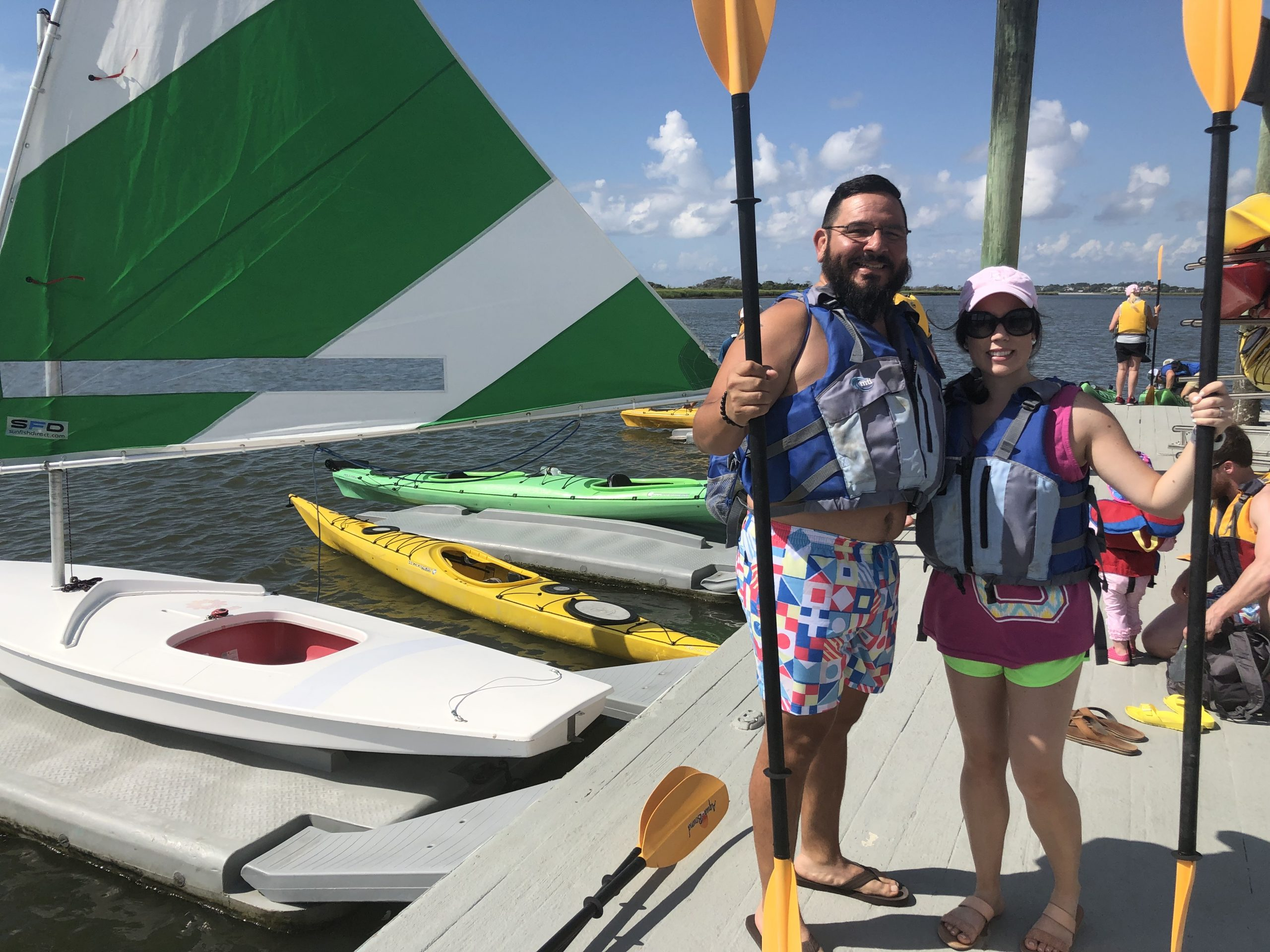 Sea island | kayaking