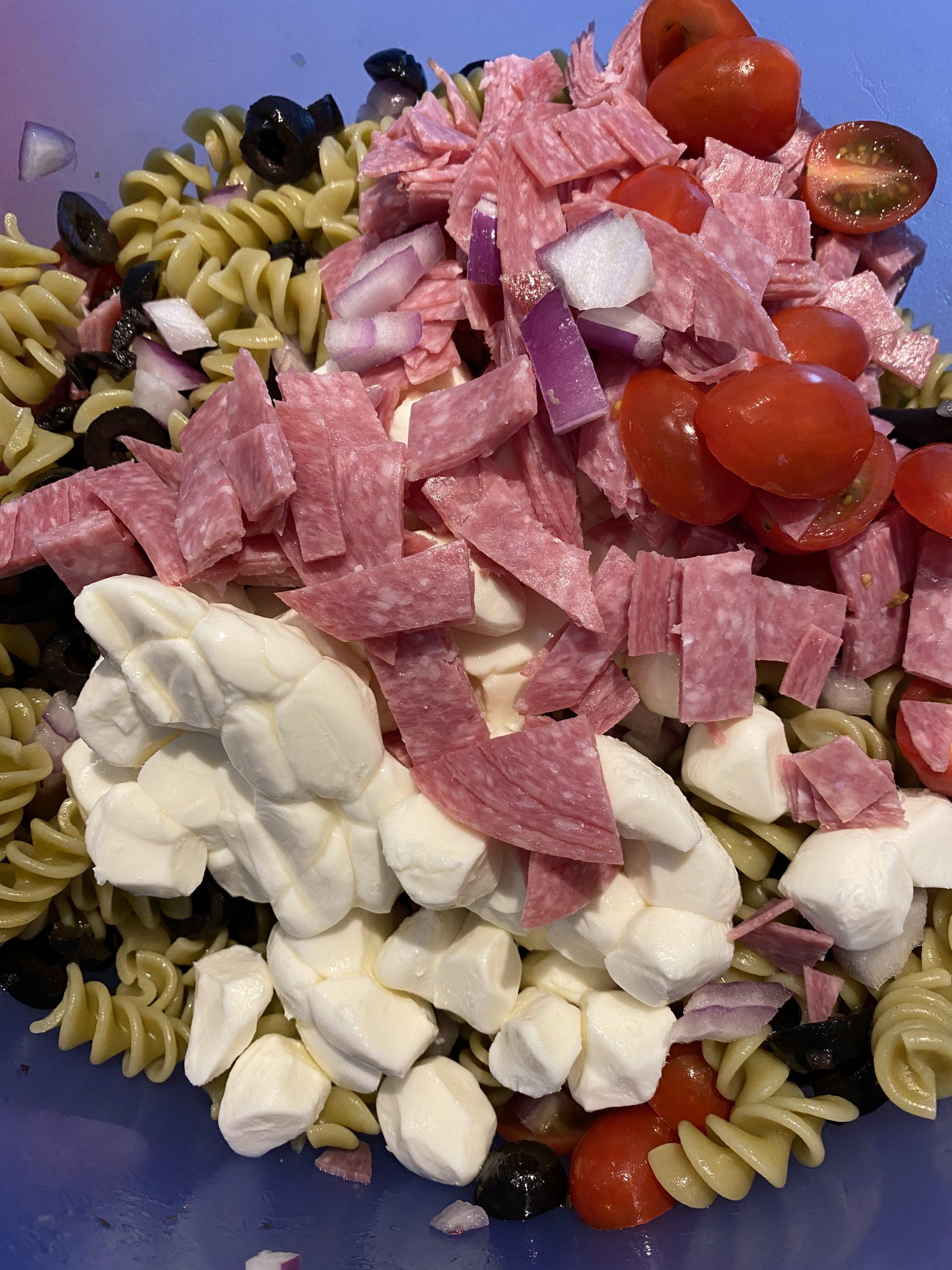 Italian chpped salad