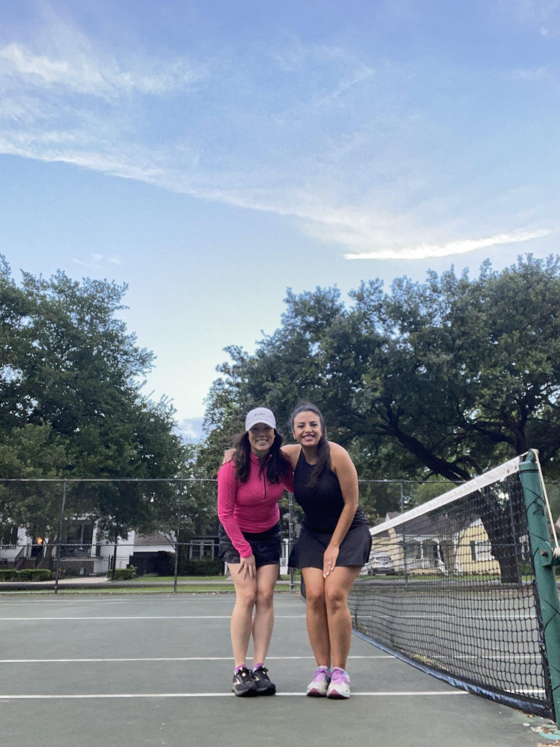 Houston tennis lesson