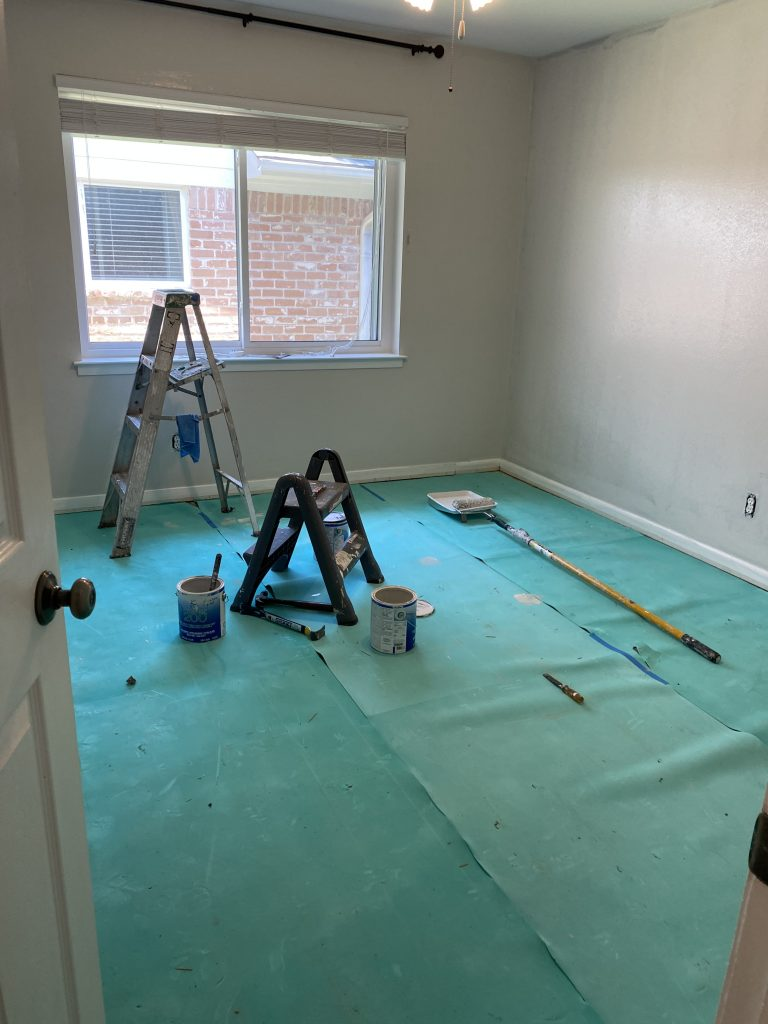 spare bedroom renovation