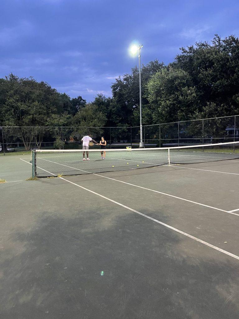 tennis lesson houston