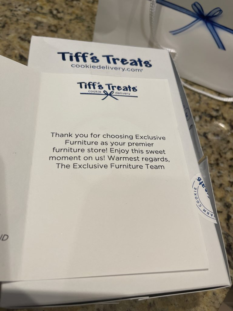 Tiff's treats | exclusive furniture