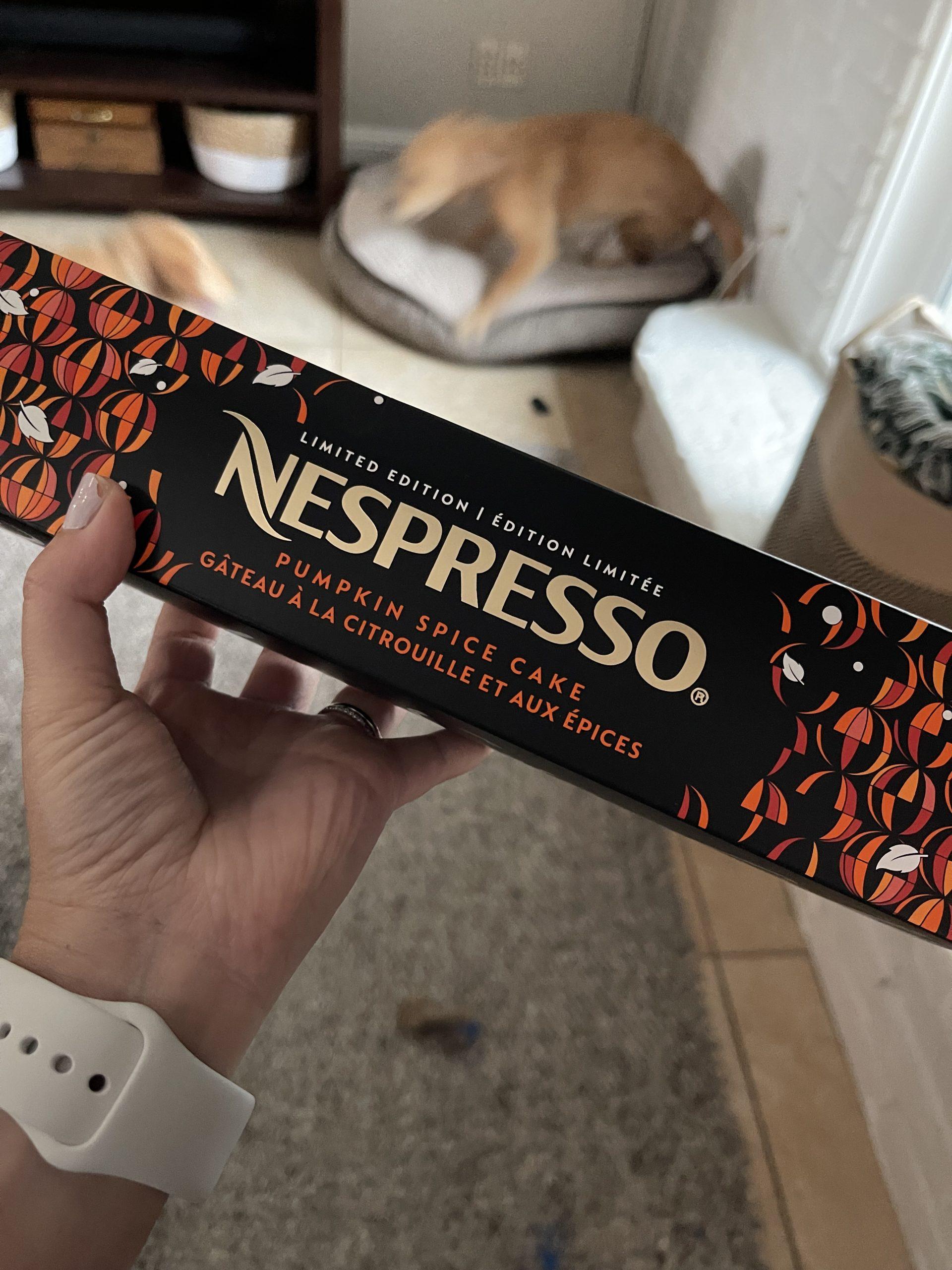 Nespresso pumpkin spice