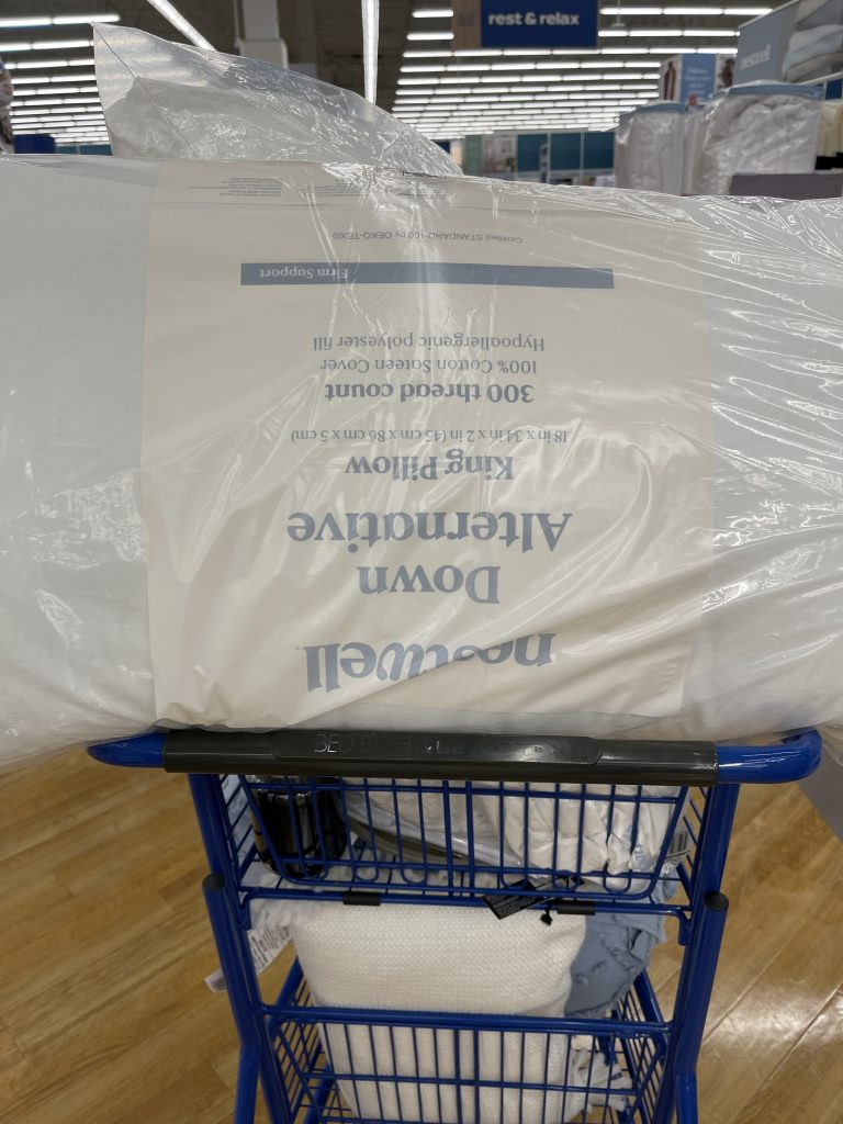 bed bath and beyond nest well pillows