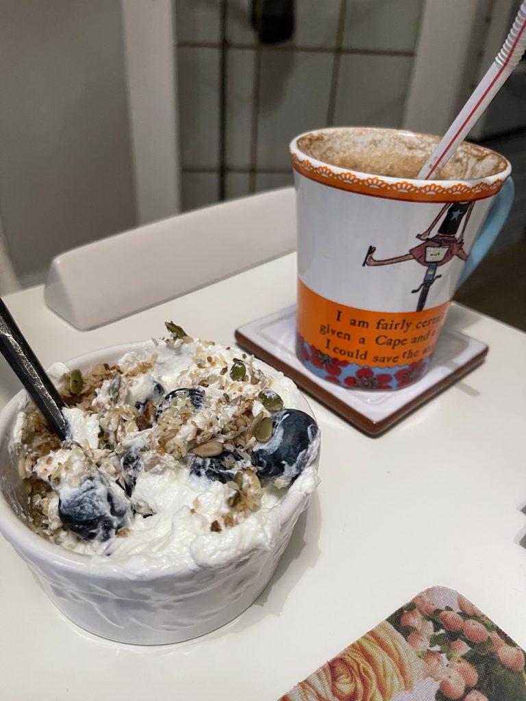 Friday morning breakfast